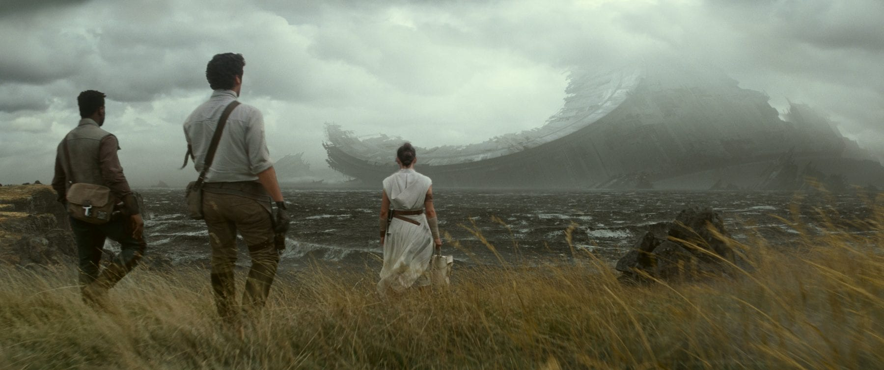 Poe, Finn, and Rey Star Wars IX teaser trailer