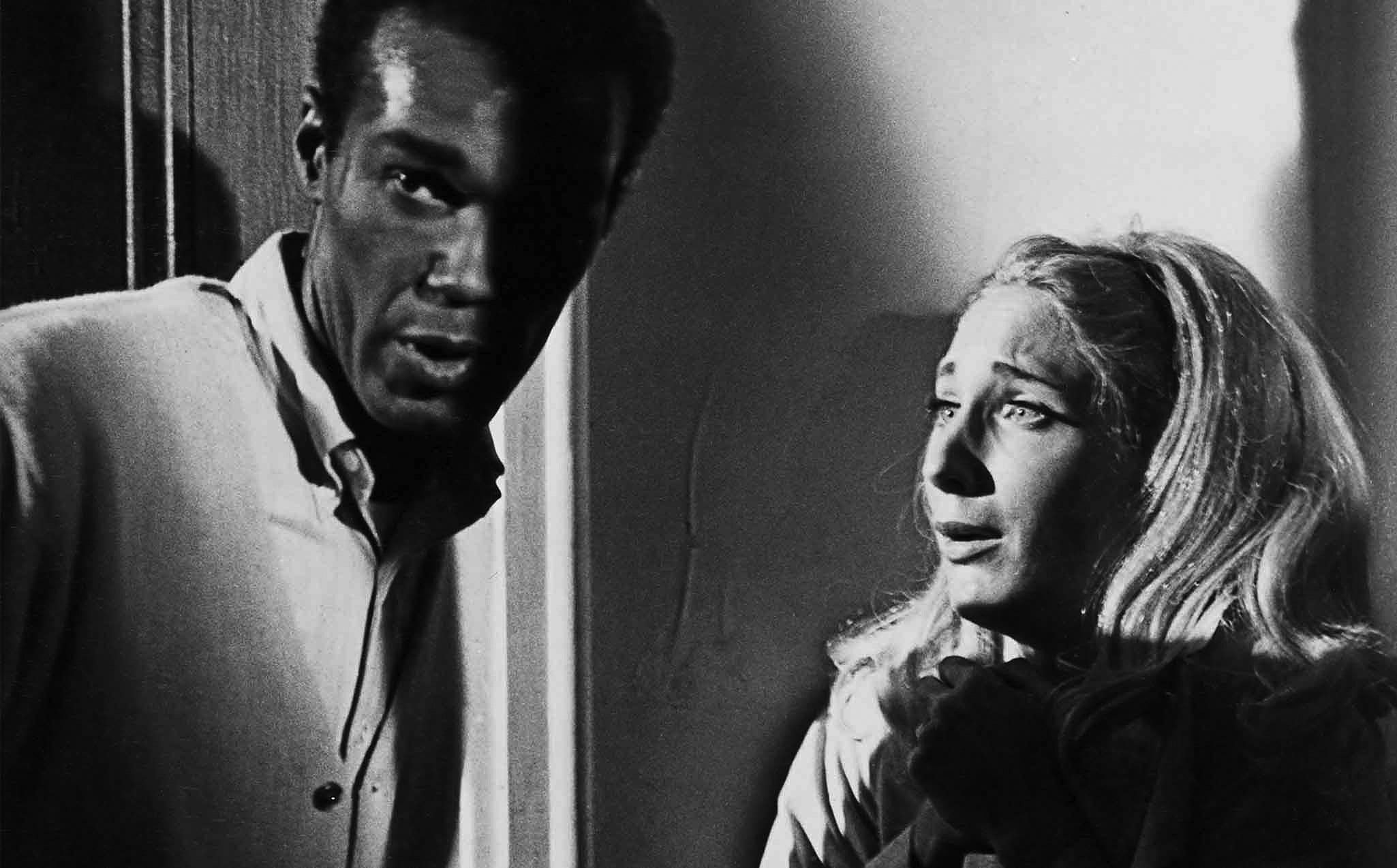 Duane Jones (Ben) and Judith O