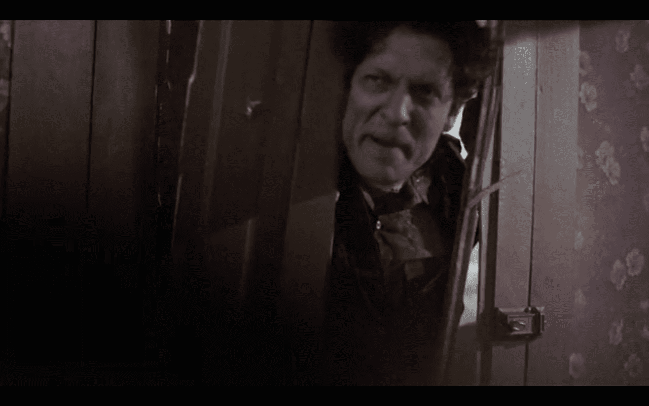 Sheriff Gus Gilbert (Clancy Brown) give an over-the-top gonz performance in the cult film Pet Sematary 2.