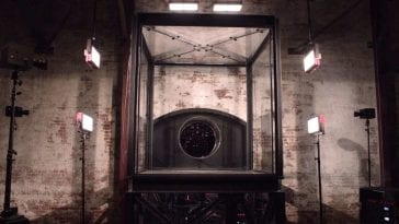 Glass box in New York