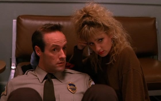 Andy and Lucy in the original series of Twin Peaks