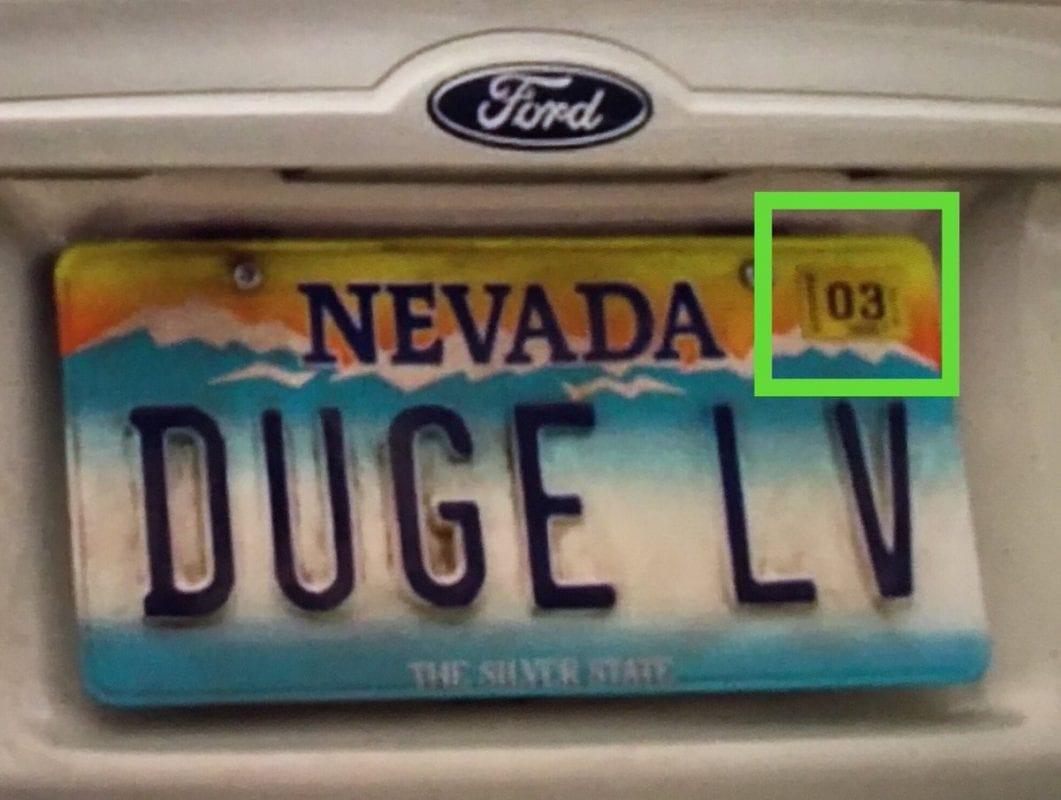 DUGE LV numberplate