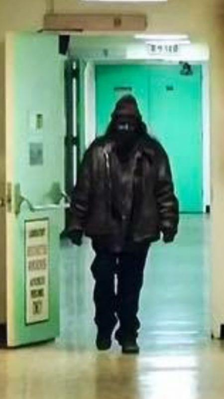 A woodsman stalks Buckhorn hallways