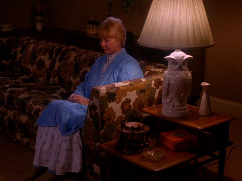 Betty Briggs awaits her husbands return