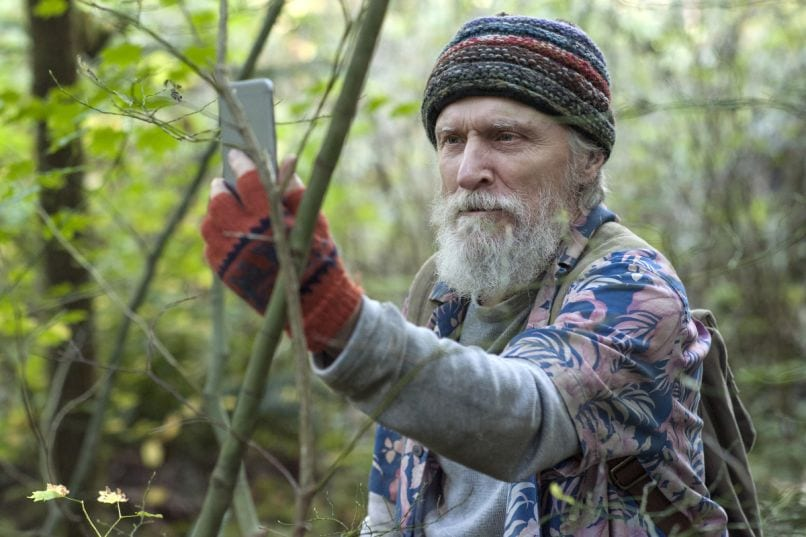 David Patrick Kelly as Jerry Horne lost in the woods