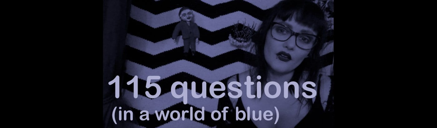 115 Twin Peaks questions header by Gisela