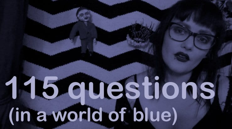 115 questions in a world of blue from Gisela