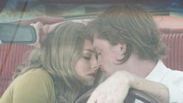 Becky and Steve in car