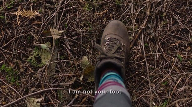 I am not your foot