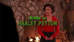Written by Harley Peyton Twin Peaks
