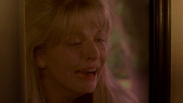 laura palmer crying on donnas doorstep