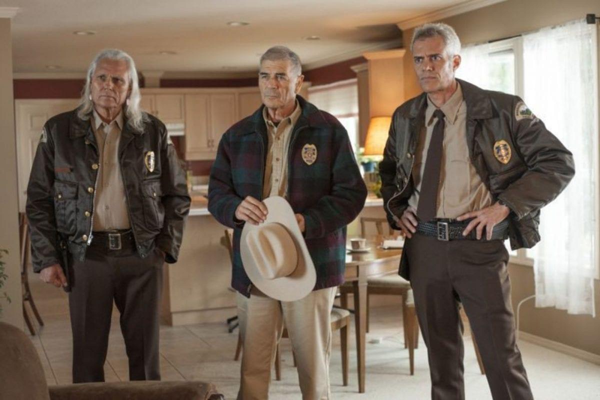 hawk, frank truman and bobby briggs at betty briggs house