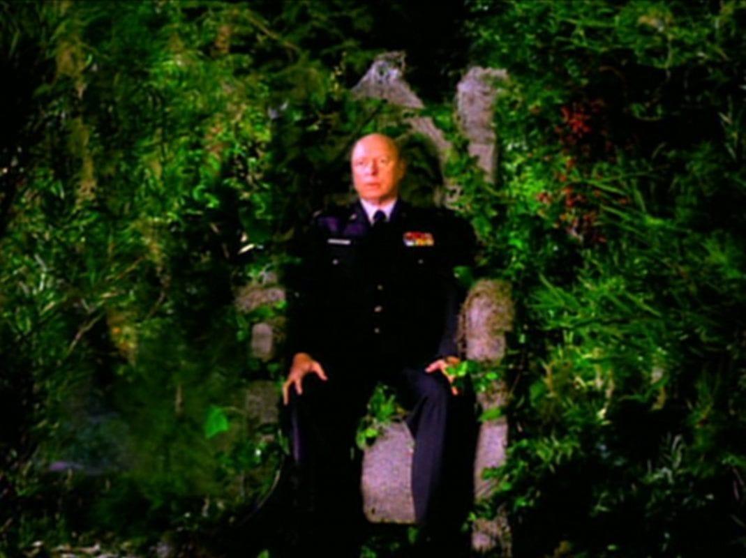 Major Briggs in the White Lodge