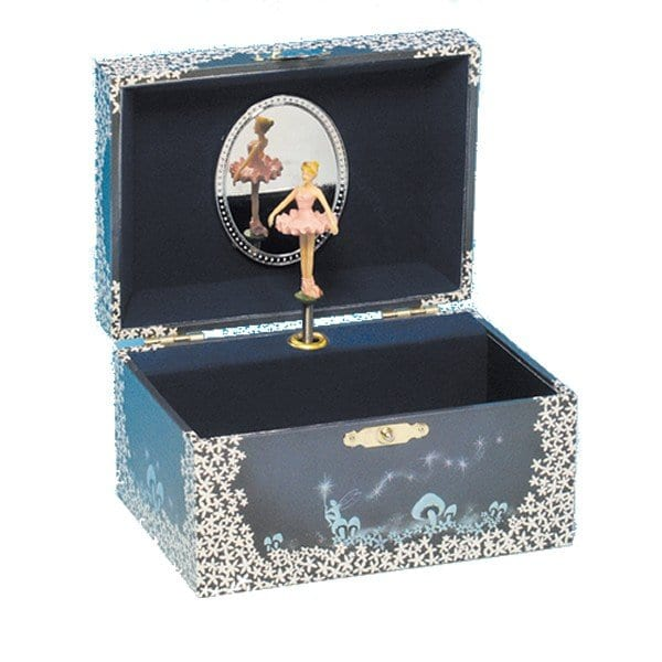 a jewellery box with a ballerina inside