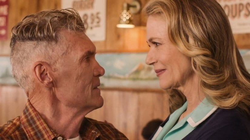 Ed and Norma finally get together in the Diner
