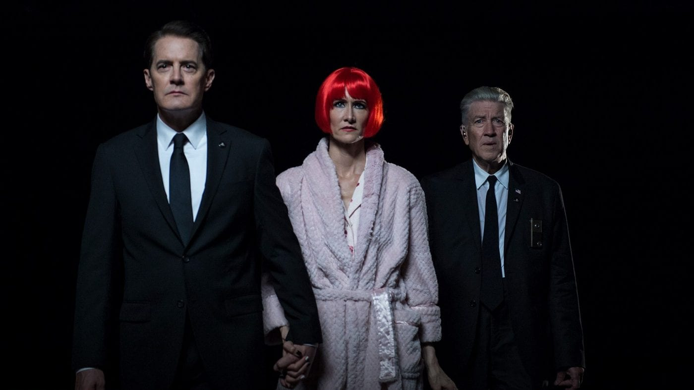 Agent Cooper, Diane and Gordon Cole