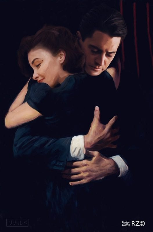 Audrey and Cooper embrace by Rinaldo zoontjes