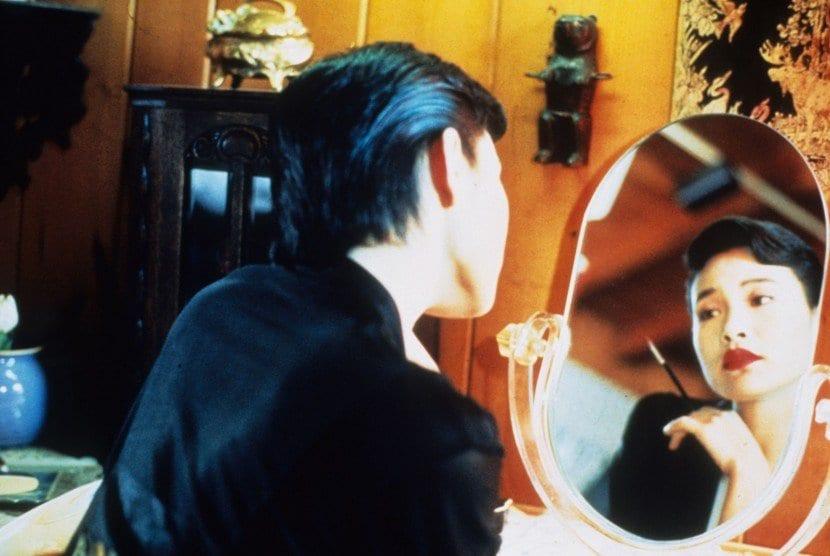 josie packard looks at herself in the mirror