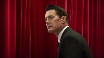 Agent Cooper in the red room