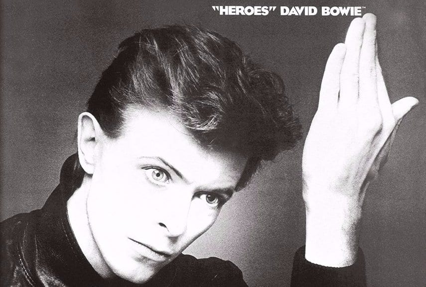 David Bowie, Heroes, album cover