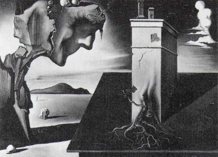 Unresolved guilt as Surrealist imagery in Dali's sequence from Hitchcock's <em>Spellbound</em> (1945).