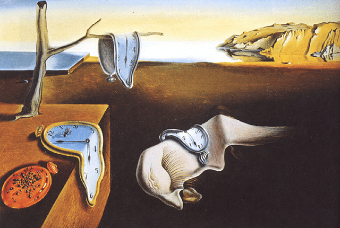 the persistence of memory painting by salvador dali