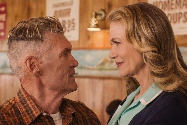 Ed and Norma smile at each other with love in Twin Peaks Series 3