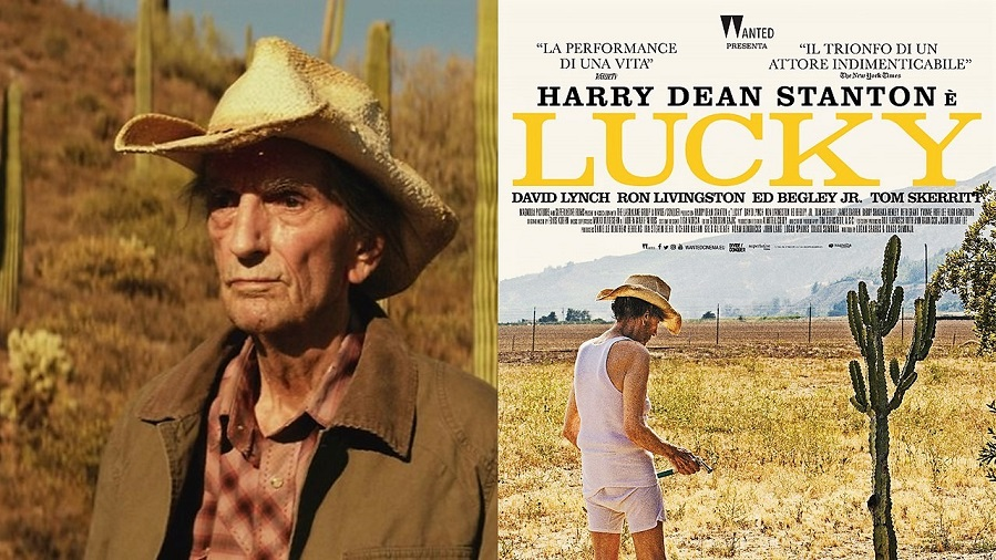 Lucky starring Harry Dean Stanton