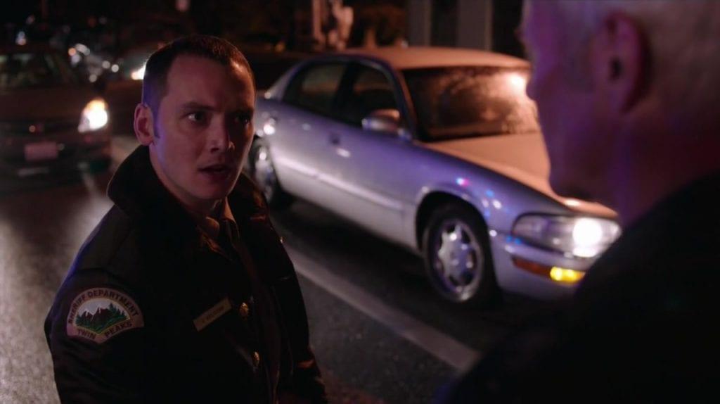 James Grixoni as Deputy Jesse on Twin Peaks