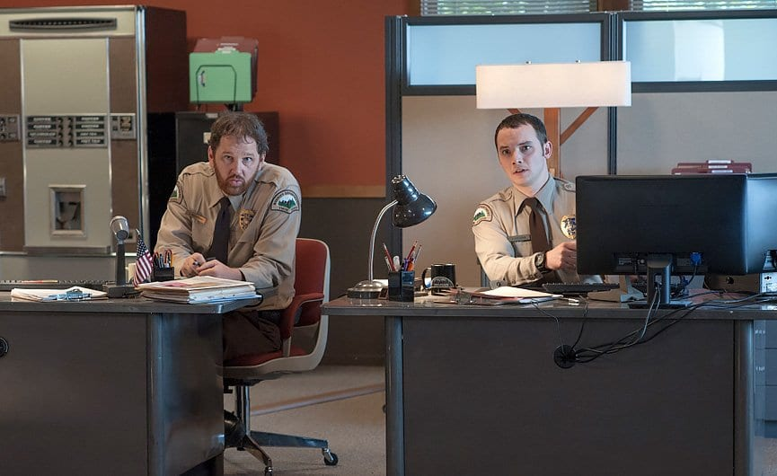 chad and jesse at the twin peaks police station