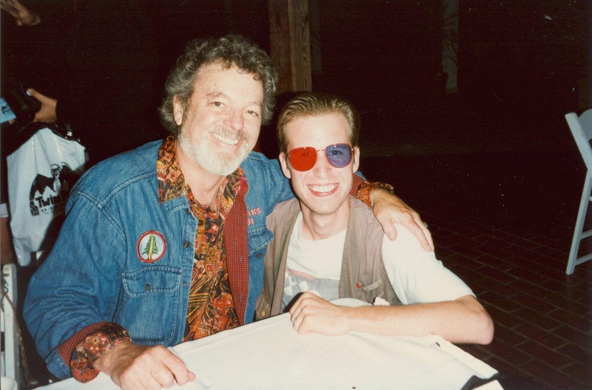 Steven Miller With Russ in 1996