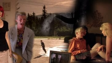 Motels in Twin Peaks collage