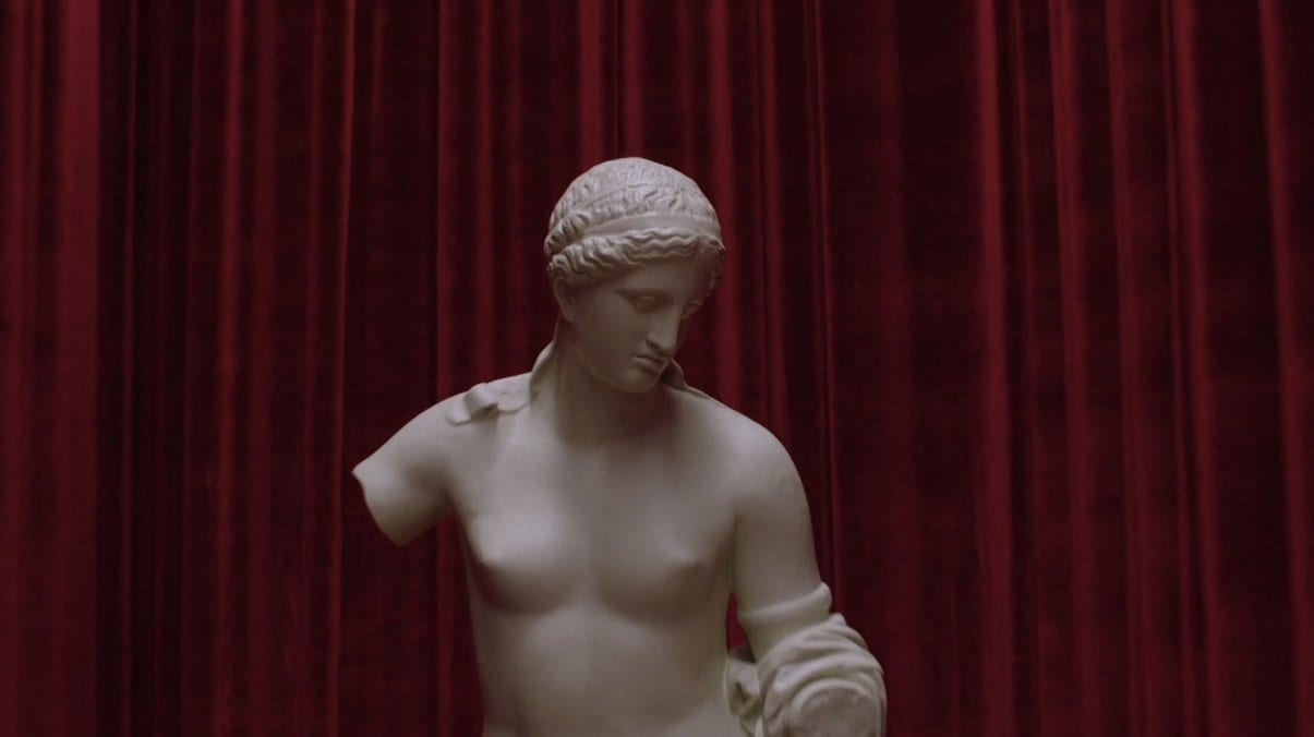 Venus statue in the black lodge