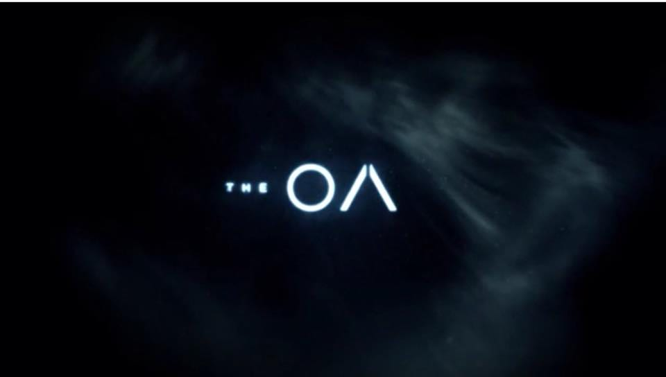 The OA title screen and logo