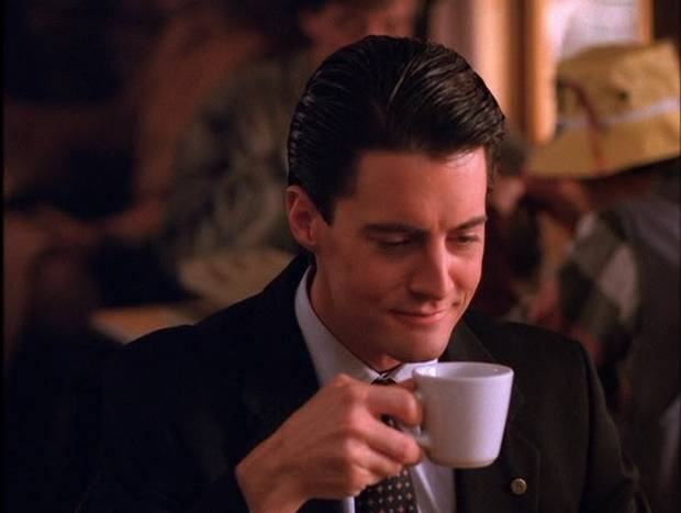 Dale Cooper and coffee