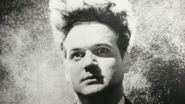 Henry Spencer played by Jack Nance in Eraserhead