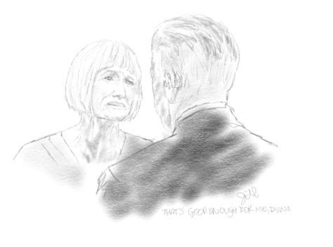 Jill Watson's drawing of Diane and Gordon