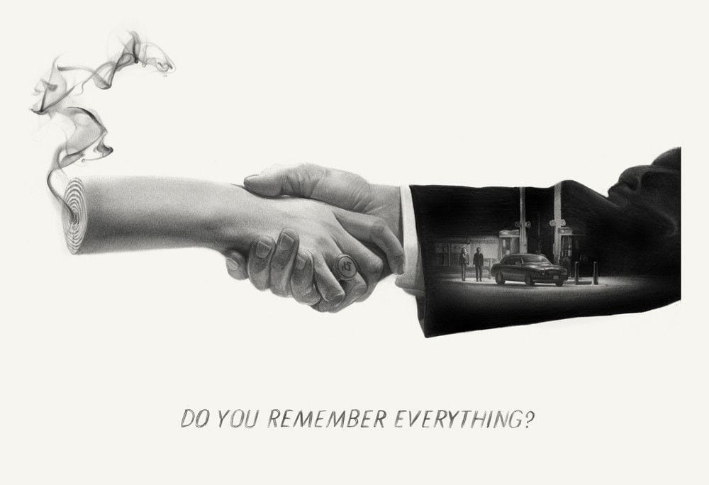 do you remember everything by Greg Ruth