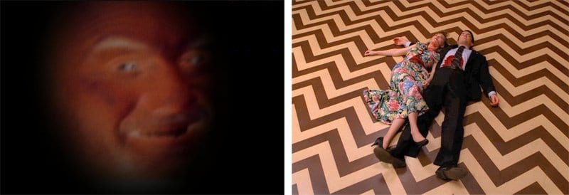 Windom Earles warped face and Annie and Cooper lay dead on the black lodge floor