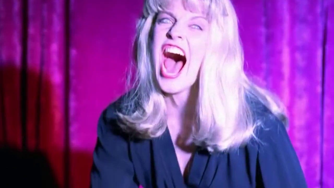 Laura Palmer's doppelganger screams