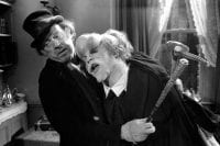 the elephant man gives a hug