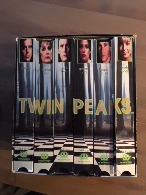 Twin Petes' well-worn VHS box set