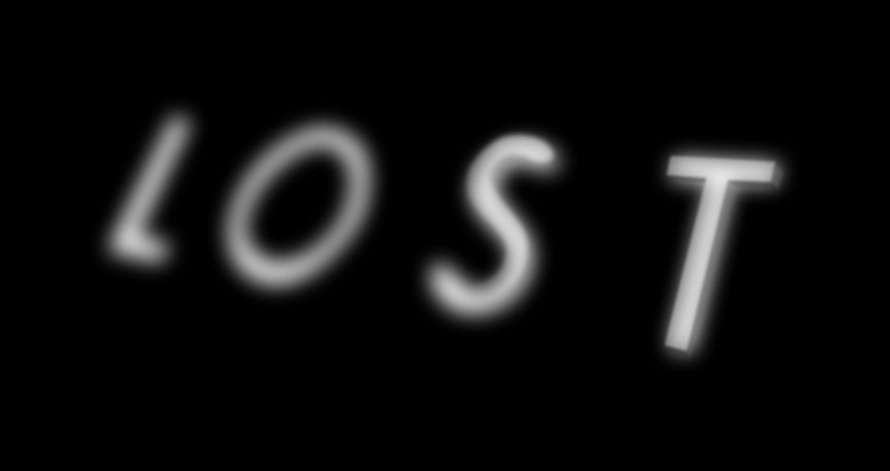 The logo of the TV show Lost