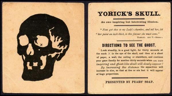 Yoricks skull