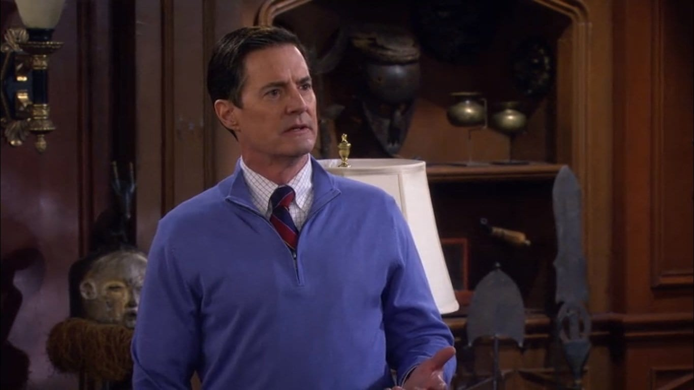Kyle MacLachlan in How I Met Your Mother