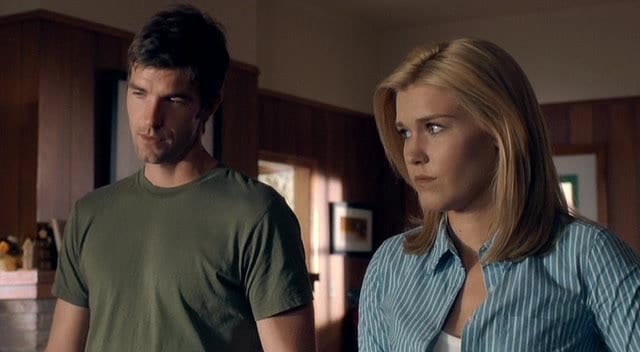 Audrey Parker played by Emily Rose, with Nathan Wuornos