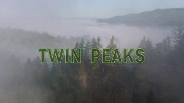 twin peaks opening shot