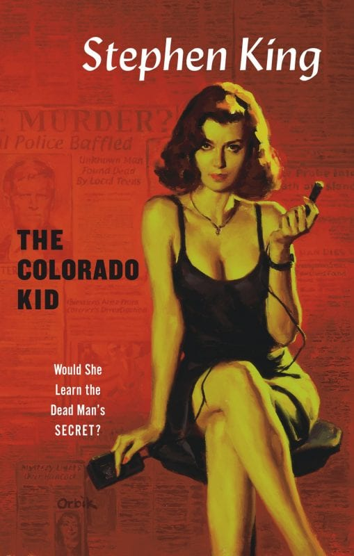 cover of The Colorado Kid book by Stephen King