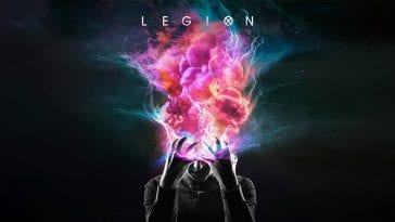 The Legion title screen