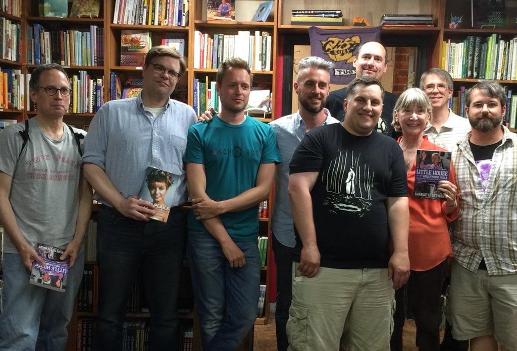Many Twin Peaks authors, Ben & Bryon, Catherine Stewart, John Thorne, Scott Ryan, Pieter Dom, Brad Dukes